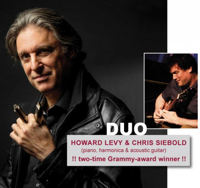 howard levy tour with Chirs siebold