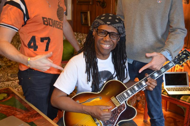 Nile Rodgers with Daft Punk