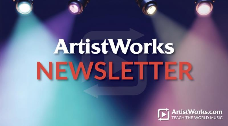 artistworks newsletter
