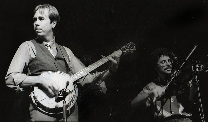 Tony Trischka at the Toulouse (France) Bluegrass Festival - 1984