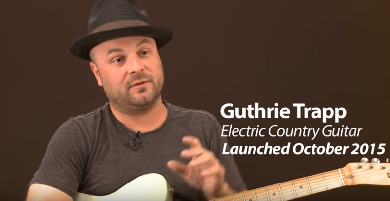 guthrie trapp, country guitar lessons