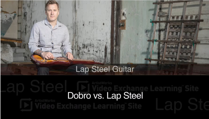 dobro vs lap steel