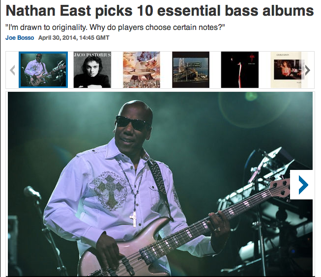 essential bass albums nathan east