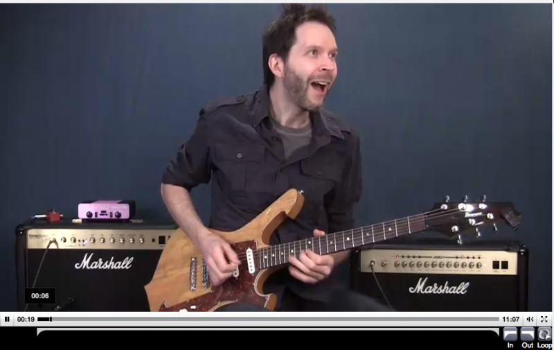 bonus guitar lessons paul gilbert