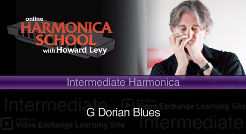 harmonica lesson on g dorian blues