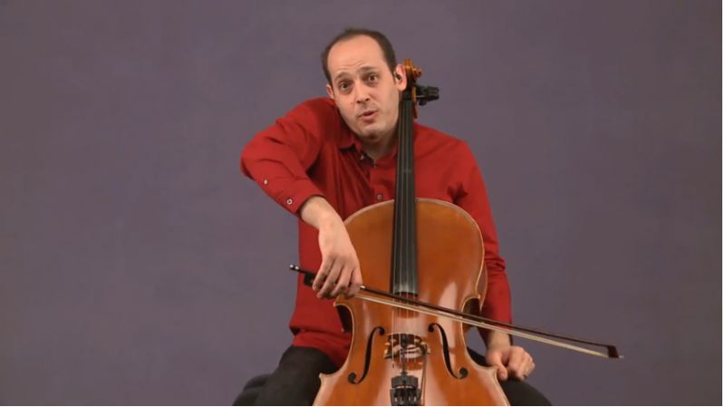 wrong cello bow hold