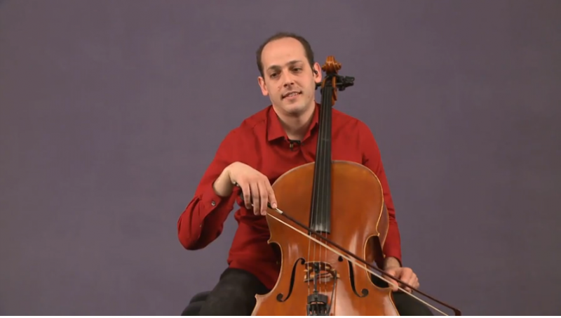 how not to hold a cello bow