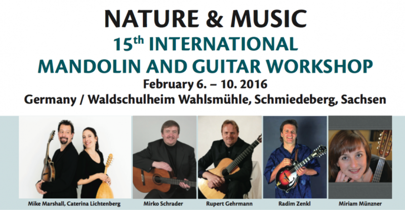 15th international mandolin guitar workshop
