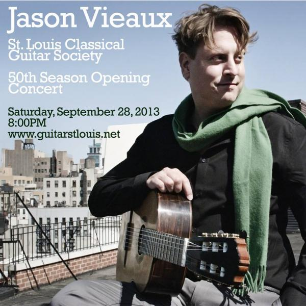 st luis classical Guitar Society jason vieaux