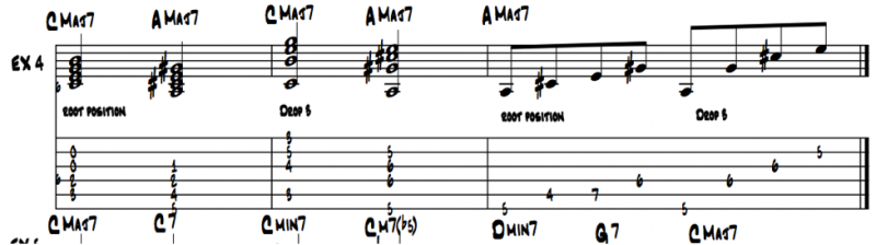 Learning Jazz Guitar Chords With The Number System Artistworks