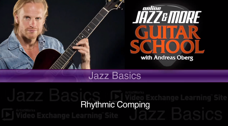 jazz guitar lessons with andreas oberg