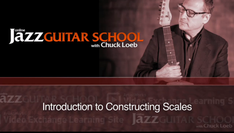jazz guitar scales lesson