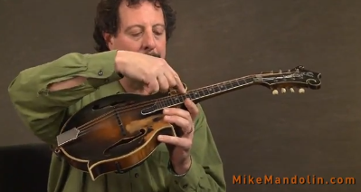 How to Tune A Mandolin - with Mike Marshall