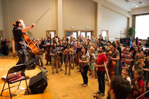 mike block string camp 2014