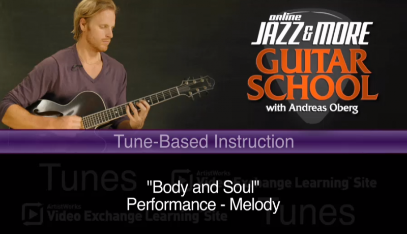 new agu lesson - jazz guitar