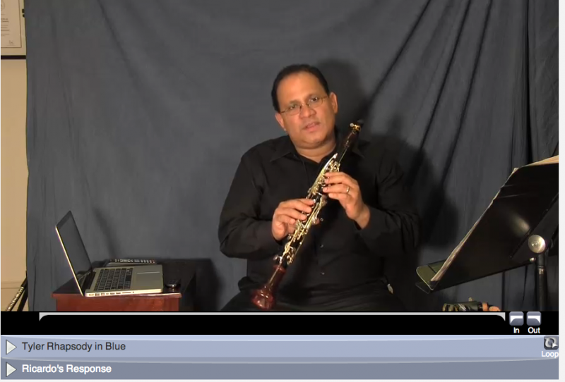 online learning clarinet with ricardo morales