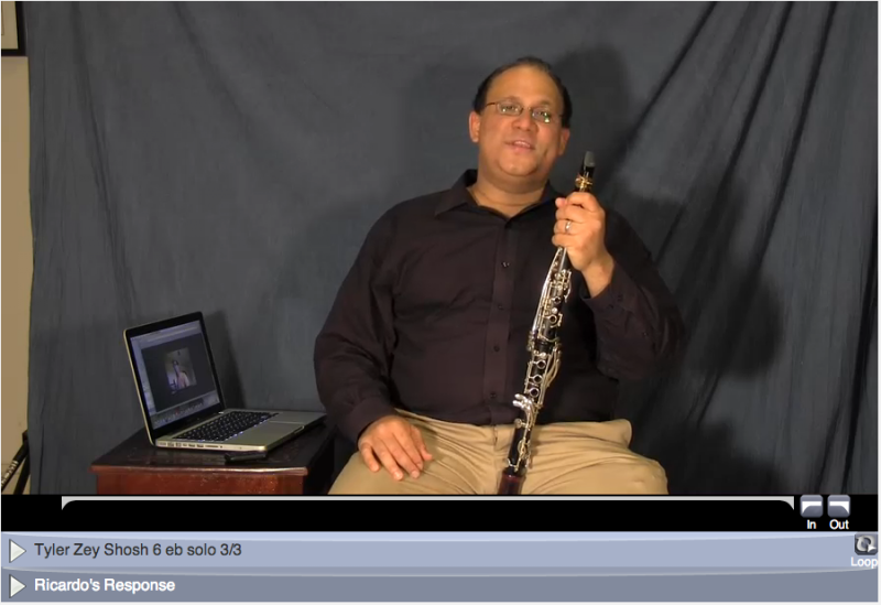 online learning clarinet lessons with ricardo morales