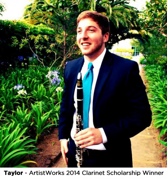 online learning profile - taylor, clarinet student
