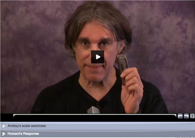 online learning - harmonica lessons with howard levy