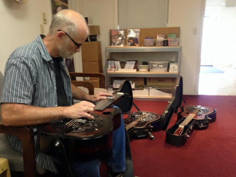 paul beard making a dobro