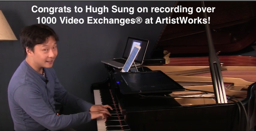 hugh sung records over 1000 video exchanges