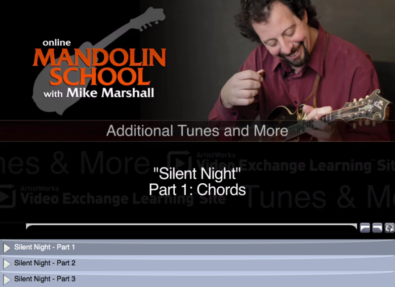 New Mandolin Lessons: Chanukah & Minor Swing | ArtistWorks