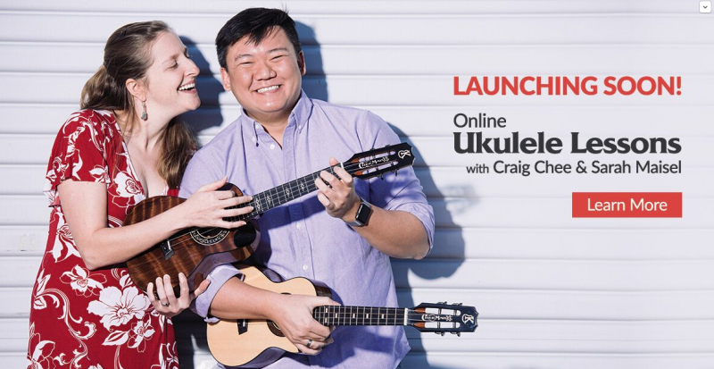 ukulele lessons with craig chee and sarah maisel