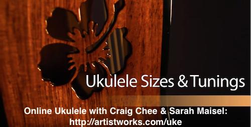 Ukulele Tuning The Different Sizes Artistworks