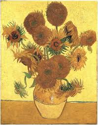 van gogh still life sunflowers